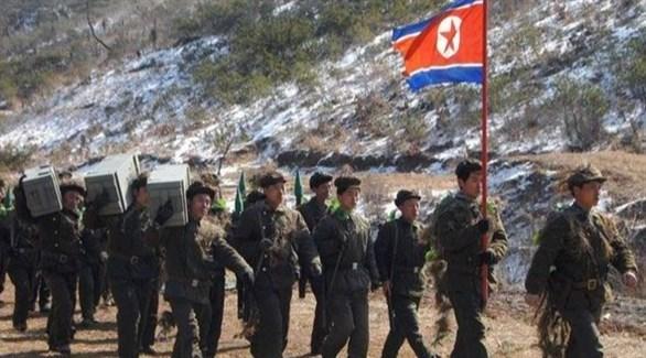 جنود كوريون شماليون على الحدود مع الصين (أرشيف)