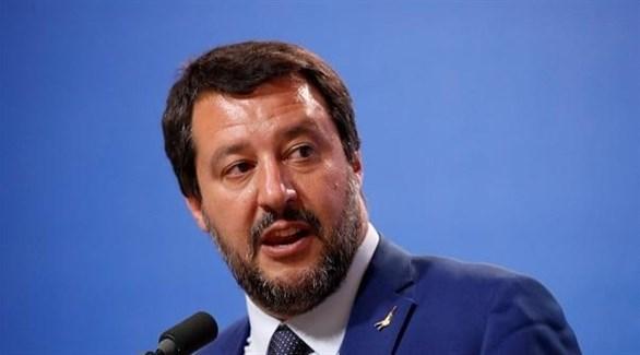 وزير الداخلية الإيطالي السابق ماتيو سالفيني (أرشيف)