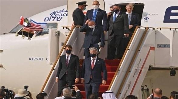وصول الوفد الأمريكي الإسرائيلي إلى الإمارات في أول رحلة مباشرة من تل أبيب إلى أبو ظبي (أرشيف)