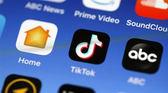 شعار تطبيق تيك توك على هاتف ذكي (أرشيف)