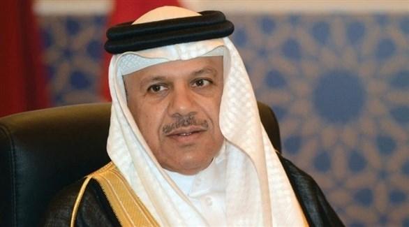 وزير الخارجية البحريني الدكتور عبد اللطيف الزياني (أرشيف)