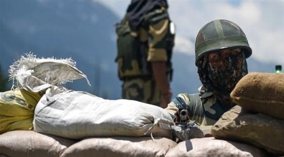 نقطة عسكرية على مرتفعات الهيمالايا (أرشيف)
