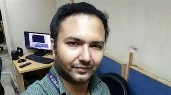 الصحافي الباكستاني بلال فاروقي (أرشيف)