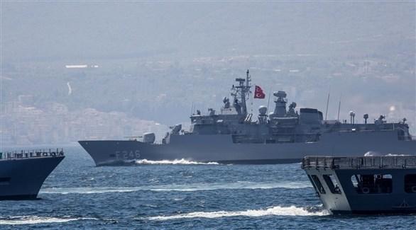 سفن تابعة للبحرية التركية (أرشيف)