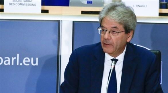 المفوض الأوروبي باولو جينتيلوني (أرشيف)