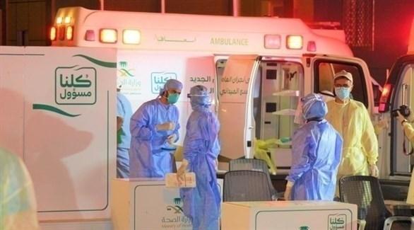 فريق صحي لمكافحة كورونا في العاصمة السعودية الرياض (أرشيف)