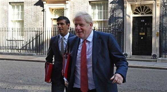 رئيس الوزراء البريطاني بوريس جونسون (أ ف ب)