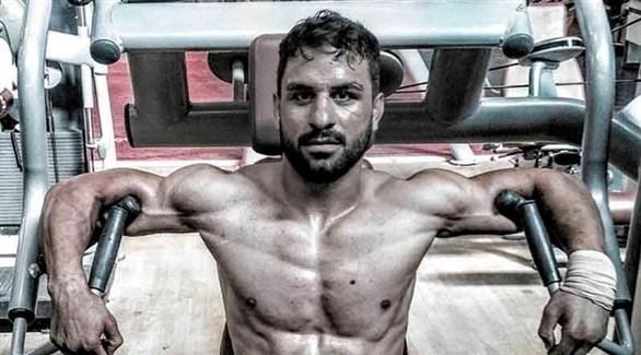 المصارع الإيراني نافيد أفكاري (أرشيف)