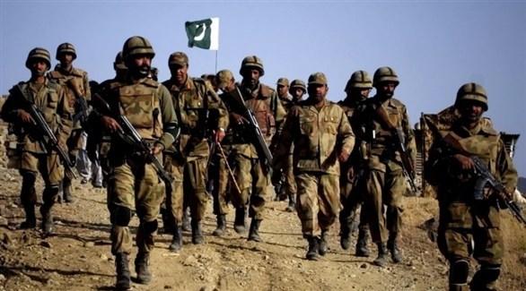 عناصر من الجيش الباكستاني في كشمير (أرشيف)