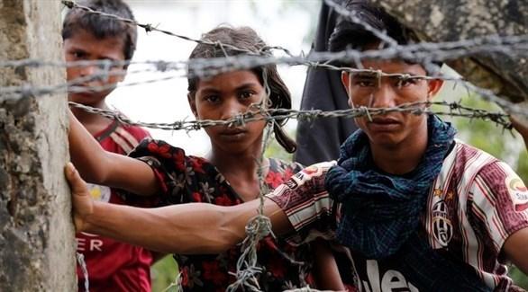 أطفال من لاجئي الروهينجا (أرشيف)