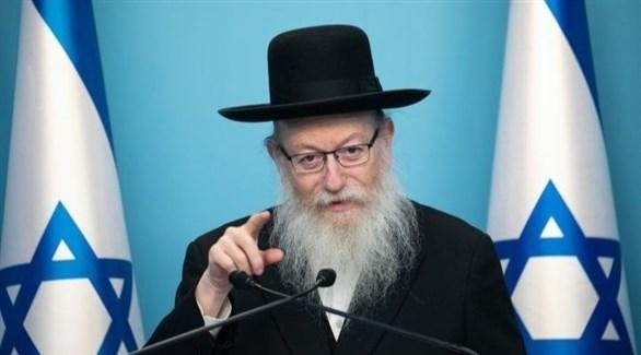 وزير الإسكان والزعيم الإسرائيلي يعقوب ليتسمان (أرشيف)