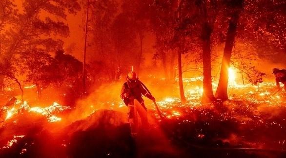 حرائق كاليفورنيا (أرشيف)