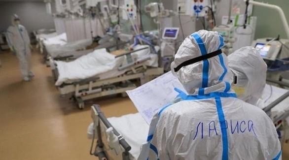 طواقم طبية لمكافحة كورونا في روسيا (أرشيف)