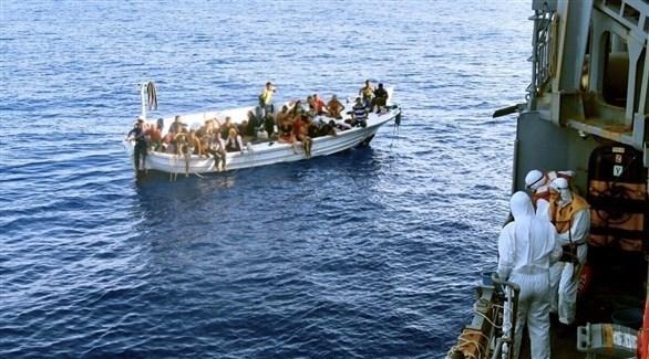 قوة اليونيفيل البحرية تنقذ قارباً على متنه 37 شخصاً (الصفحة السمية لقوات اليونيفيل)