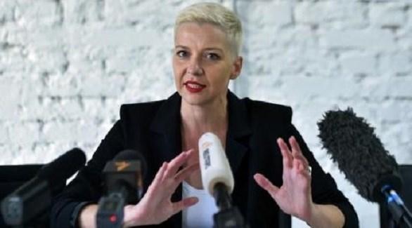 زعيمة المعارضة في بيلاروسيا ماريا كوليسنيكوفا (أرشيف)