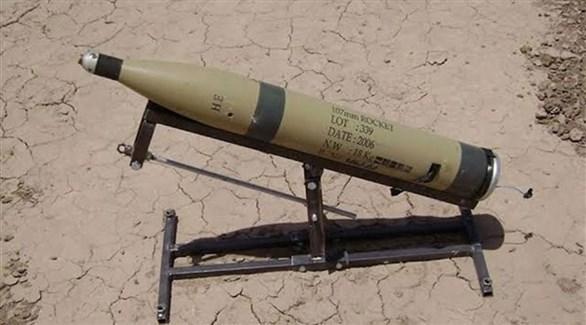 منصة صاروخ استهدفت المنطقة الخضراء فجر اليوم (وسائل إعلام عراقية)