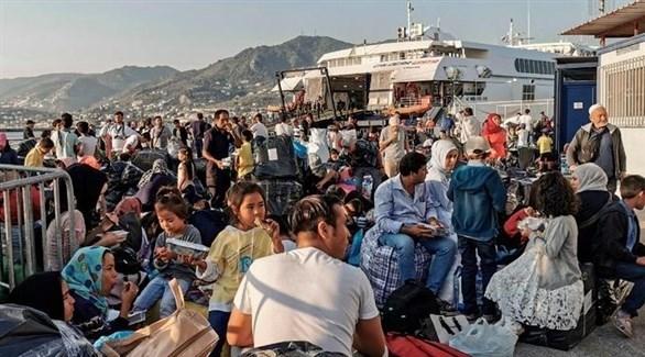 مهاجرون في اليونان (أرشيف)