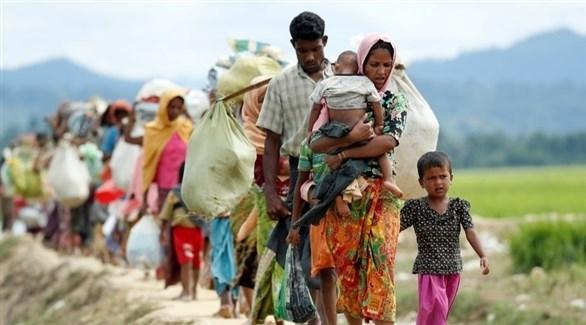نازحون من أقلية الروهينجا (أرشيف)