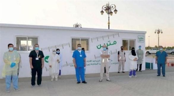 عاملون في القطاع الصحي السعودي (أرشيف)
