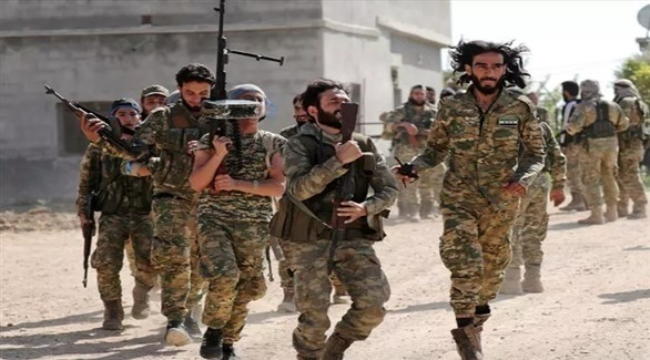مسلحون موالون لتركيا في سوريا (أرشيف)