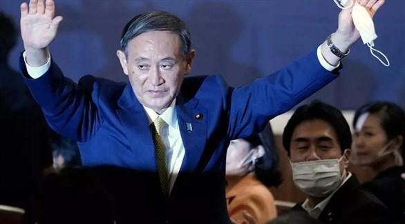 رئيس الوزراء الياباني الجديد يوشيهيدي سوغا (أرشيف)