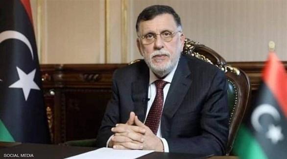 رئيس حكومة الوفاق الليبية المستقيل فائز السراج (تويتر)