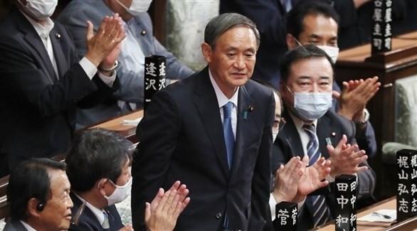 رئيس الوزراء الياباني الجديد يوشيهدي سوجا (أرشيف)