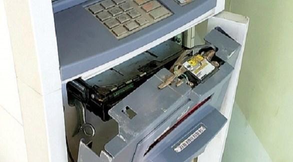 محاولة فاشلة لسرقة صراف آلي (أرشيف)