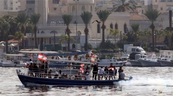 قوارب تحمل مهاجرين لبنانيين (أرشيف)