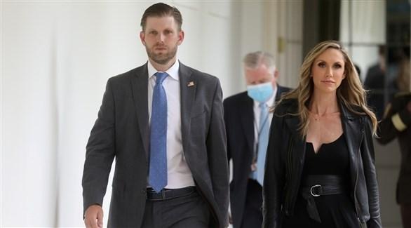 إريك ترامب وزوجته (أرشيف)