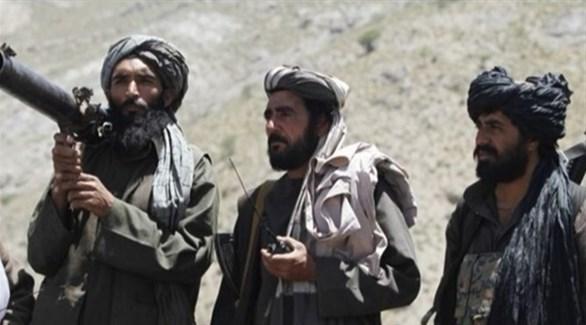 عناصر حركة طالبان الإرهابية (أرشيف)