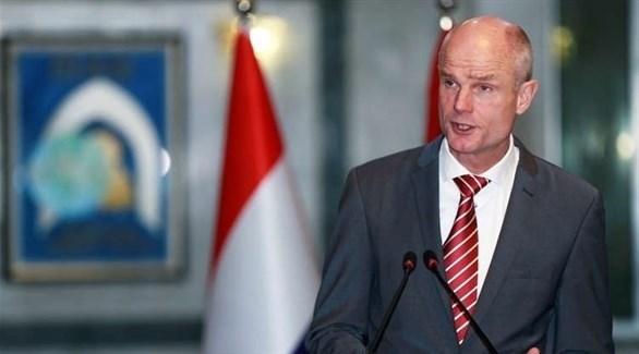 وزير الخارجية الهولندي ستيف بلوك (أرشيف)