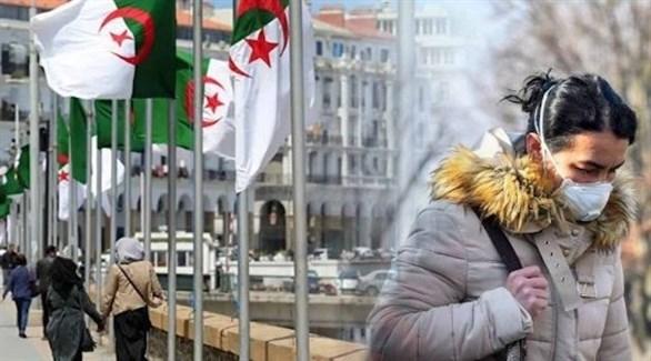 سيدة  في أحد شوارع العاصمة الجزائرية (أرشيف)