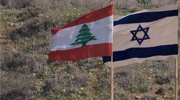 علما إسرائيل ولبنان (أرشيف)