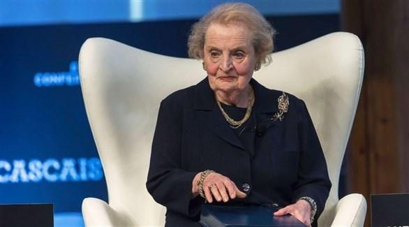 وزيرة الخارجية الأمريكية السابقة مادلين أولبرايت (أرشيف)