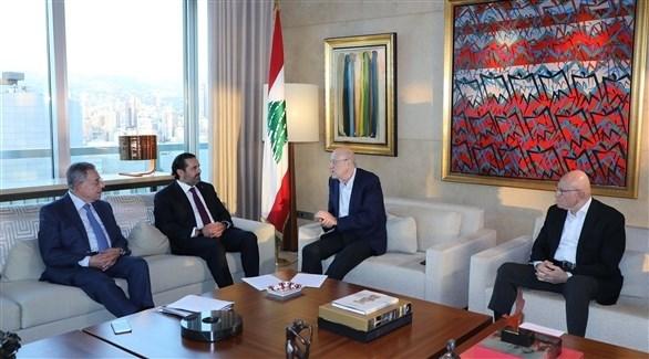 رؤساء الحكومات السابقون في لبنان (أرشيف / دالاتي ونهرا)