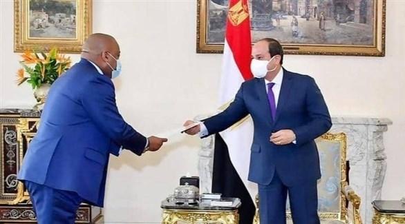 الرئيس المصري يتسلم رسالة من مستشار رئيس الكونغو (أرشيف)