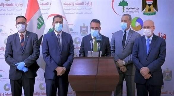 وزير الصحة العراقي حسن التميمي (أرشيف)
