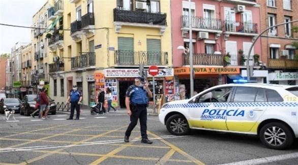 الشرطة الإسبانية في مدريد (أرشيف)