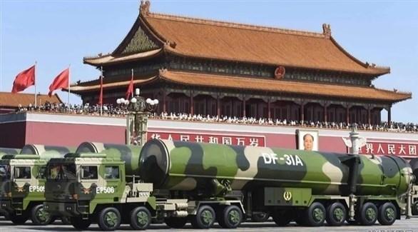 عرض عسكري في الصين (أرشيف)