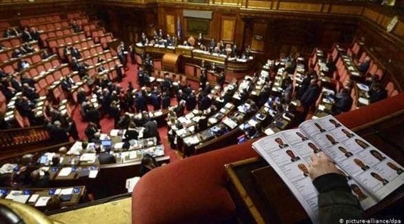 جانب من البرلمان الإيطالي (أرشيف / د ب أ)