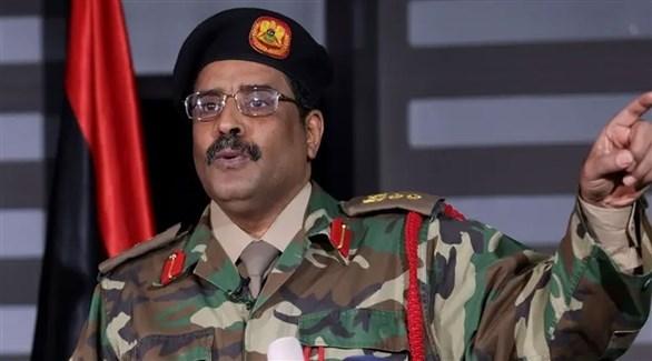 المتحدث باسم الجيش الوطني الليبي، أحمد المسماري (أرشيف)