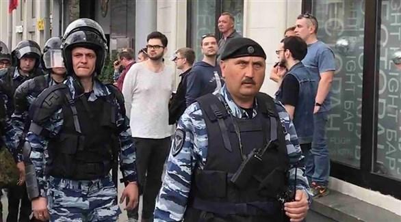 عناصر من الشرطة الأوكرانية (أرشيف)