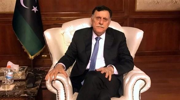 رئيس حكومة الوفاق في طرابلس فايز السراج (أرشيف)