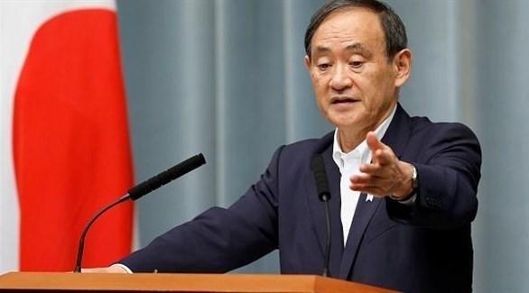 المرشح لقيادة الحكومة اليابانية يوشيهيدي سوغا (أرشيف)