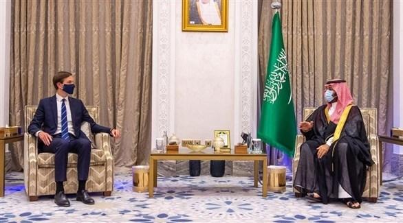محمد بن سلمان مستقبلاً كوشنر (واس)