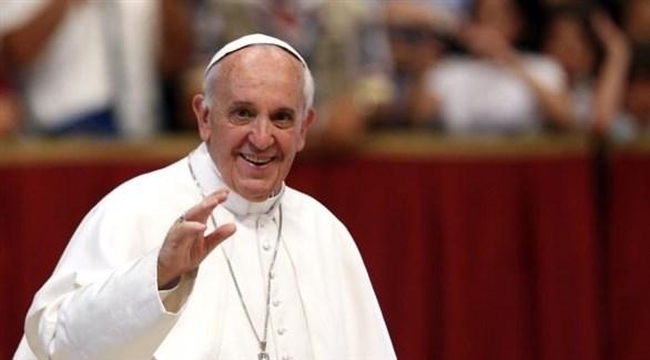 بابا الفاتيكان فرنسيس الأول (أرشيف)
