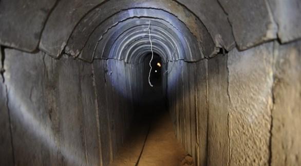أحد أنفاق حركة حماس في قطاع غزة (أرشيف)