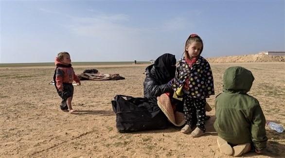 عائلة لاجئة (أرشيف)