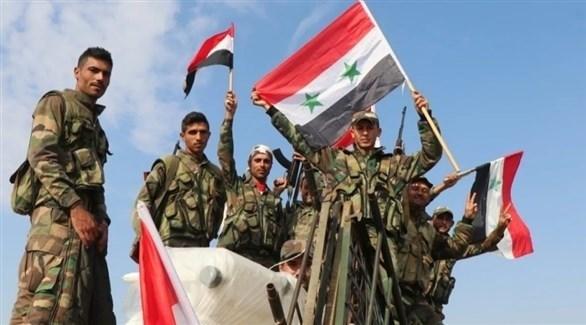 عناصر من القوات السورية (أرشيف)